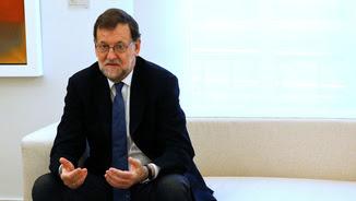 Mariano Rajoy felicita al Barça per Twitter i comet una falta d'ortografia (Reuters)