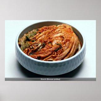 Kimchi (Korean pickles) Print