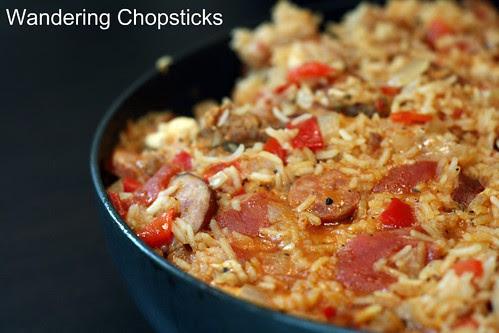 Creole Red Jambalaya with Chicken and Sausage 8