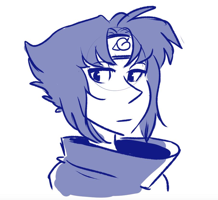 here's uhhhhHhhhhhh… Lapis as Sasuke
