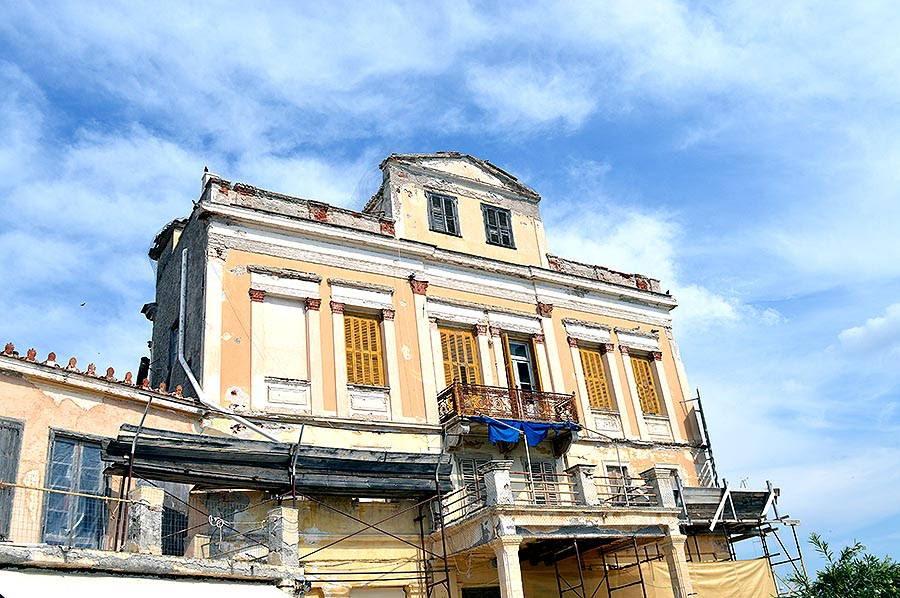 Αποτέλεσμα εικόνας για αιγινα παλια κτιρια