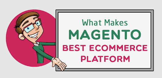 [Infographics] Why Magento is Best Ecommerce Platform ? - AnimHuT