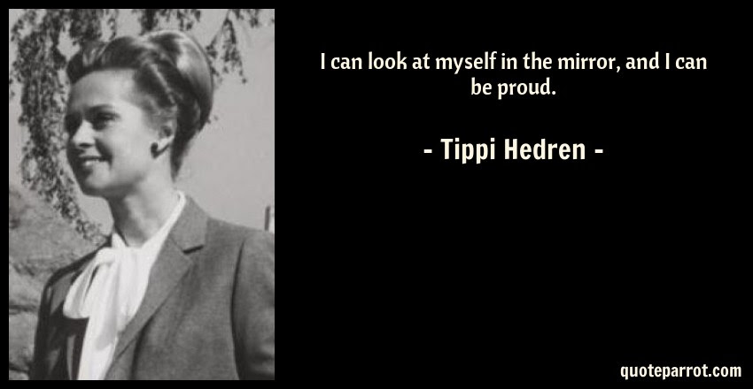I Can Look At Myself In The Mirror And I Can Be Proud By Tippi