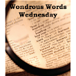 Wondrous Words Wednesday: Two New Words