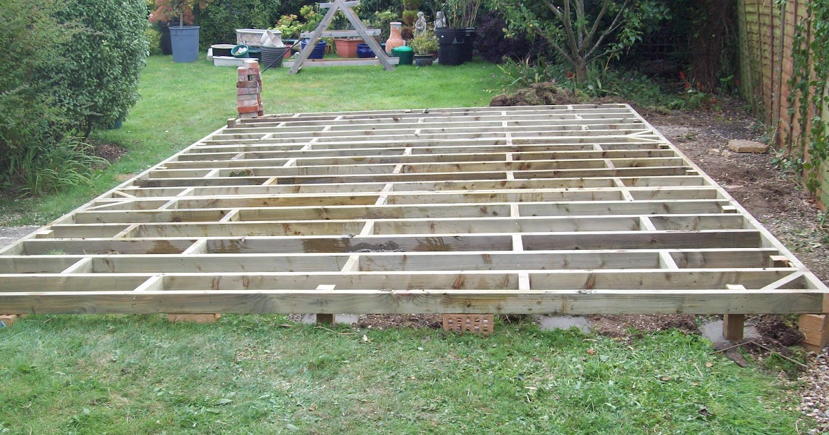 Build Shed Include Shed Base Treatment