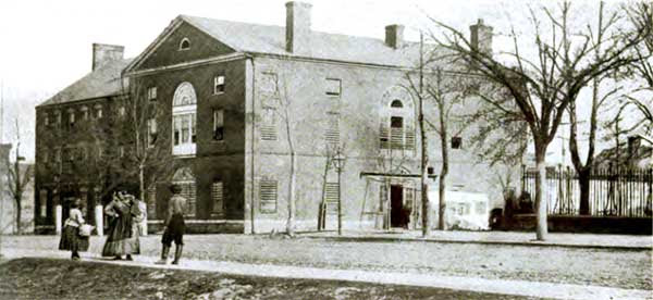 Old Capital Prison- Washington, in the early days of the war
