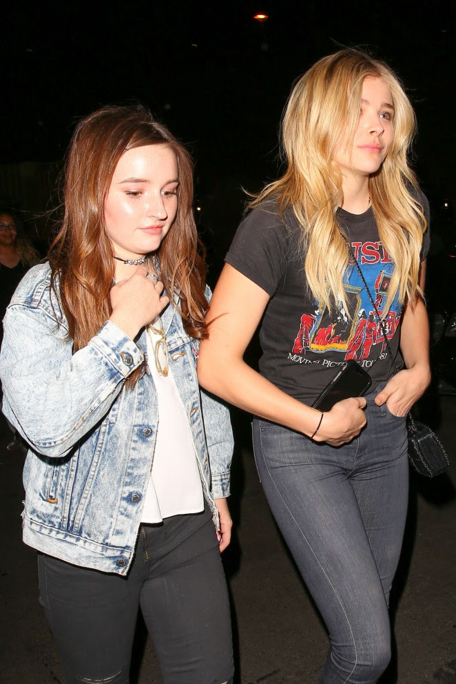Chloe Moretz and Kaitlyn Dever: We Can Survive Concert -08
