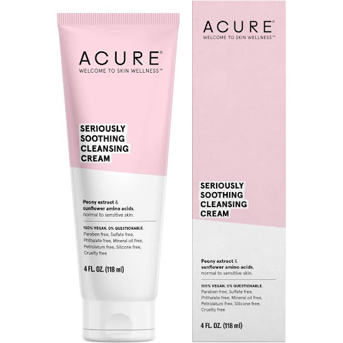 Acure Seriously Soothing Cleansing Cream - 4 fl oz tube