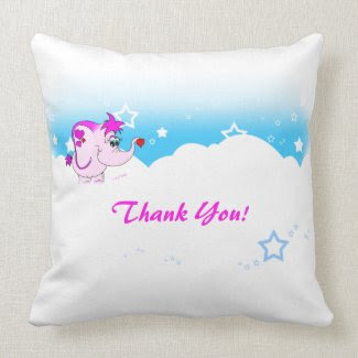 Cool Lucky Pinkie Thank You Pillow