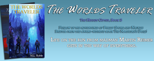 Blog Tour - The Worlds Traveler (The Hidden Gifted #2) by M.L. Roble