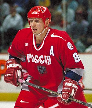 Larionov Russia World Cup 1996, Larionov Russia World Cup 1996
