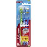 Colgate Extra Clean Full Head Toothbrush, Medium - 3 Count