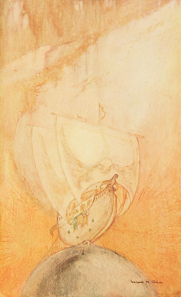 William Timlin - The Ship That Sailed To Mars