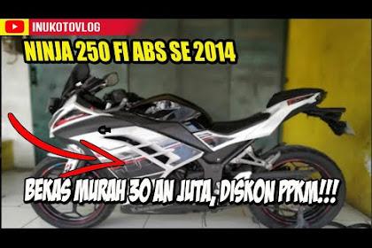 Pasaran Harga Bekas Ninja 250 FI ABS 2014 Semarang