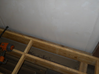 2x4 Attached to Extend Floor Parallel to the Joists