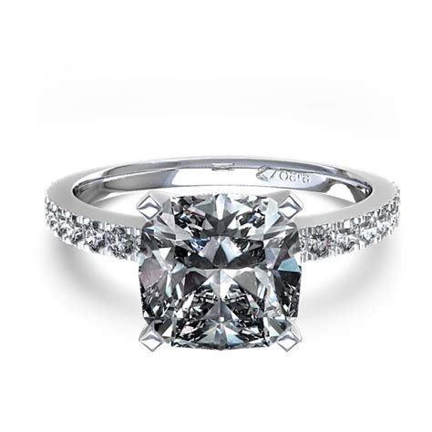 49 best Cushion Cut Diamond Engagement Rings images on