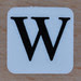 Tile Letter W