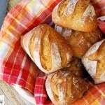 Knusprige Biga-Kartoffel-Brötchen