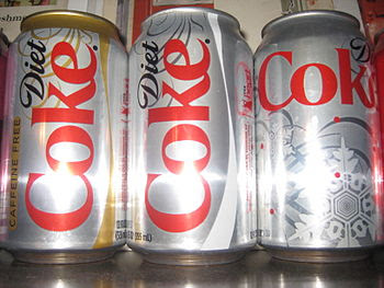 English: Diet Coke Products