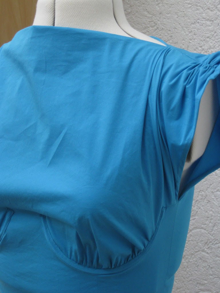 Resi blaues BV Kleid Herbst 0930
