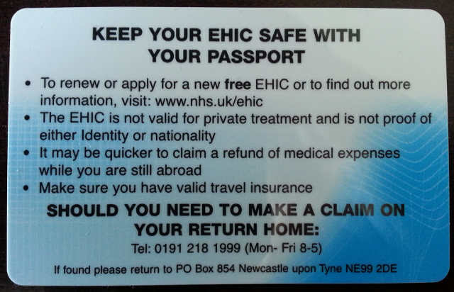 EHIC | European Health Insurance Card | Travel Insurance EHIC