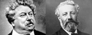 Alejandro Dumas y Julio Verne