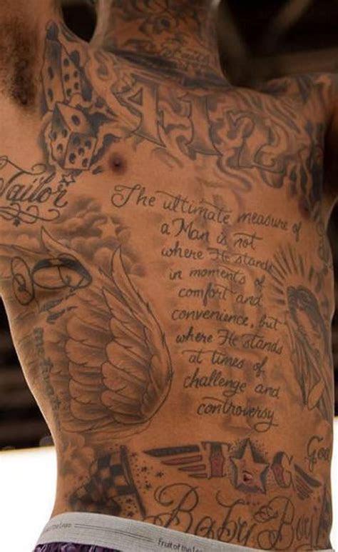 wiz khalifas tattoos     entire body