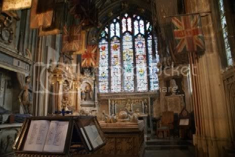 Shrine in Canterbury Cathedral Pictures, Images and Photos