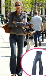 Gisele Bundchen in Citizens of Humanity jeans