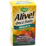 Alive! Once Daily Men's Ultra Potency By Nature's Way - 60 Tablets