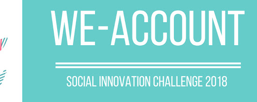 DEADLINE EXTENDED: We-Account! Social Innovation Challenge 2018
