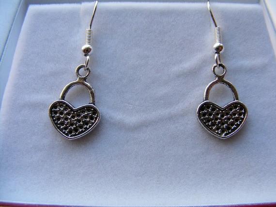 Earrings Silver Hearts