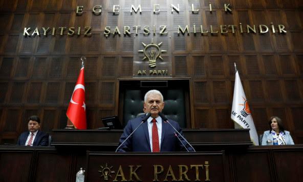 Πηγές Άγκυρας: Ο Γιλντιρίμ υπέβαλε την παραίτηση του στον Ερντογάν