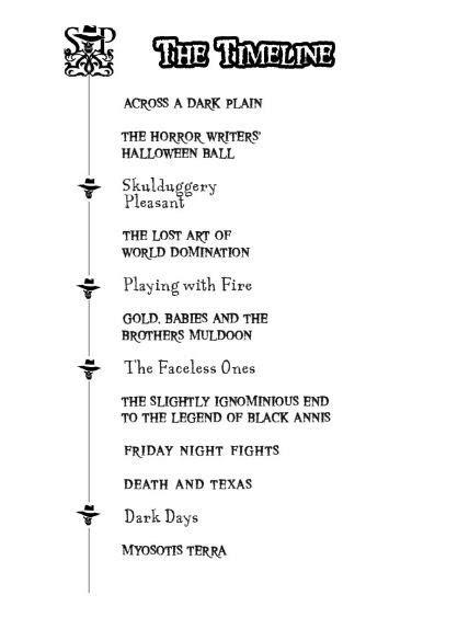Timeline | Skulduggery Pleasant Wiki | FANDOM powered by Wikia