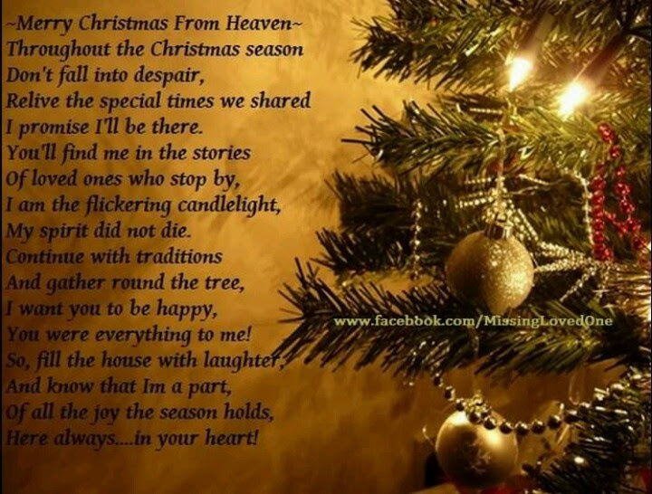 Latest Merry Christmas In Heaven Quotes - Mesgulsinyali