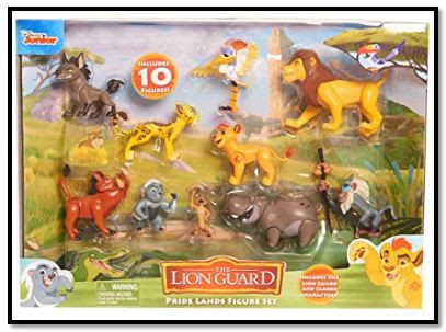 The Lion Guard Deluxe Figure Set Reviewed – Toy Reviews By Dad