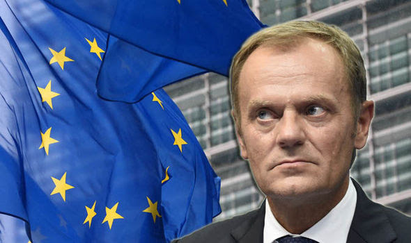 Donald Tusk, president of the European Council, spoke out last night