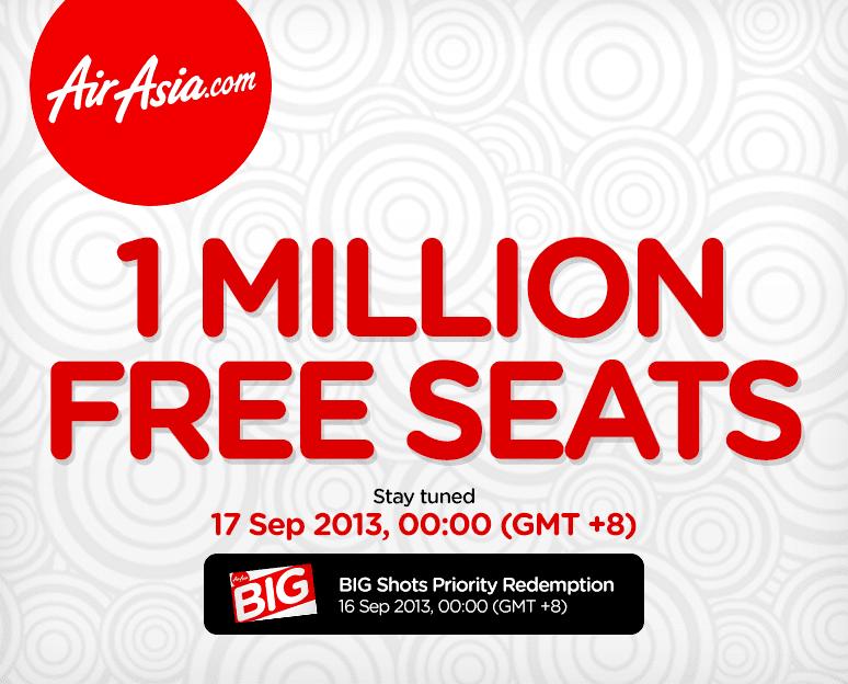 1Million Free Seats!!