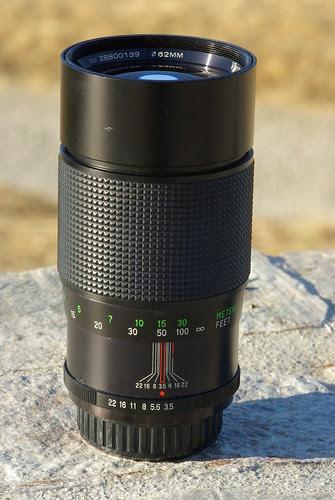 vivitar 200mm f/3.5 form Komine