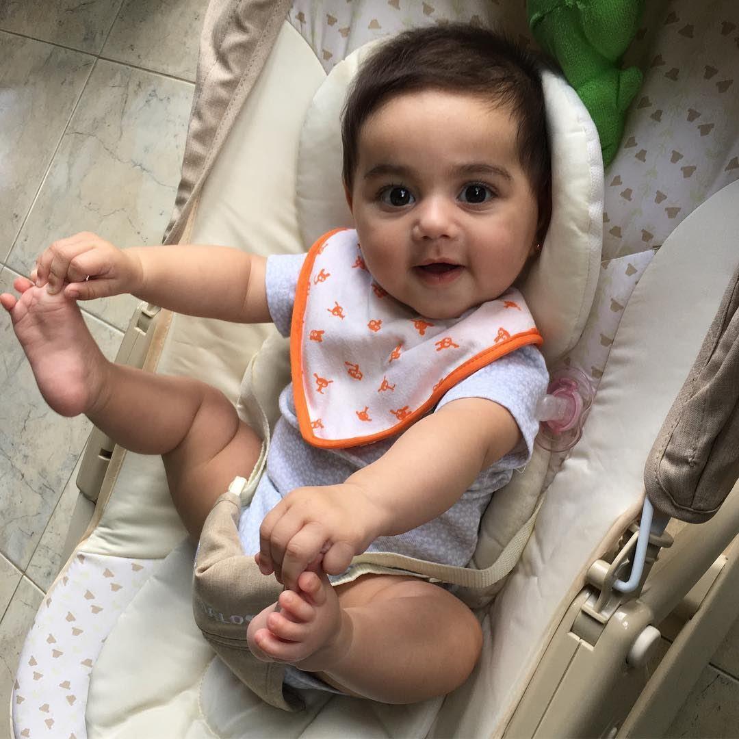 Yasmina Baby Girl Goodmorning Lebanon In A Picture