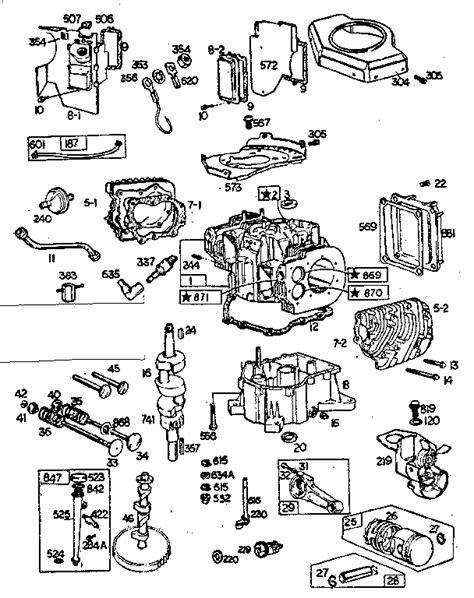 BRIGGS & STRATTON BRIGGS & STRATTON 18 HP ENGINE Parts