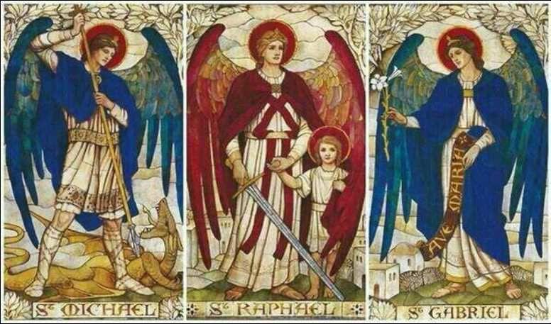 Résultats de recherche d'images pour «Saints Michel Gabriel Raphaël»