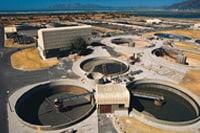 Photo: Sewage plant.
