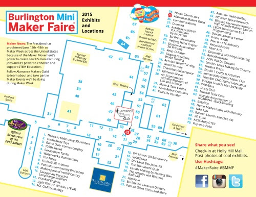 Make, share and learn at the 2015 Burlington Mini Maker Faire!