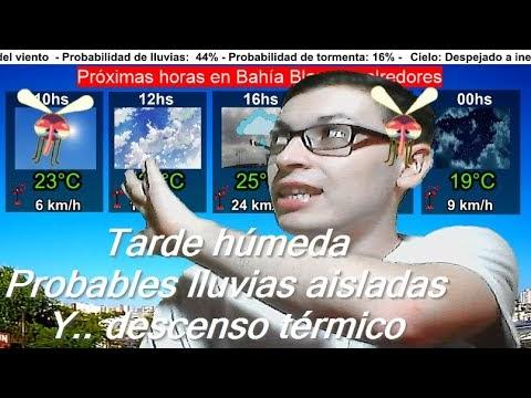 Reporte meteorológico de las 09:30hs martes 24 de marzo 2020 - Meteo Lucas