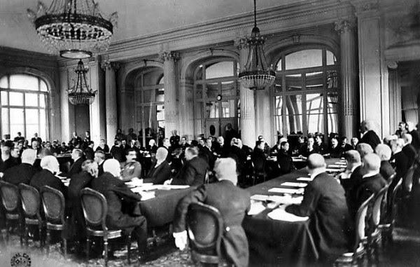 Image result for peace conference paris 1919 images
