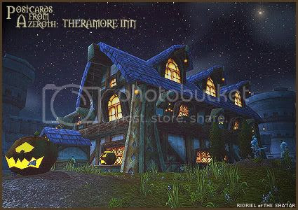 Postcards From Azeroth: Theramore Inn, by Rioriel Whitefeather