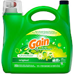 Gain Ultra Concentrated Liquid Laundry Detergent, Original, (146 lds, 200 Ounce)