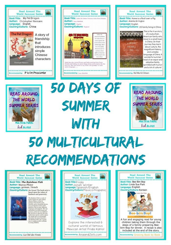 50 days of summer with 50 multiculturalrecommendations from around the world!