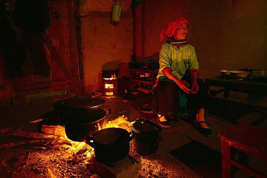 mái nhà người Mông